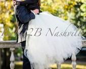 Bridal Skirt Ivory Tulle ...