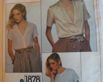 Circa 1980's Very easy Vogue Calvin Klein 1878 size14