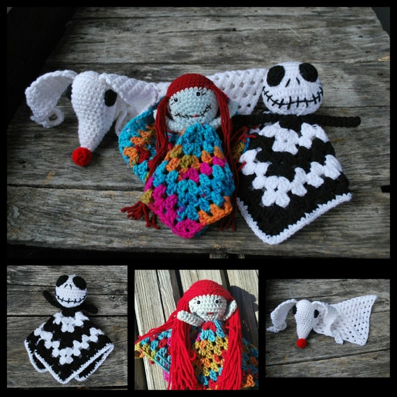 Pattern only jacksallyzero nightmare before christmascrochet this is a digital file publicscrutiny Images
