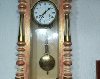 Antique Junghans wall clock, modernly restored , model B-05, German wall clock