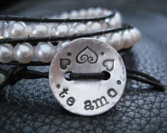 Envelopper le Pearl Bracelet