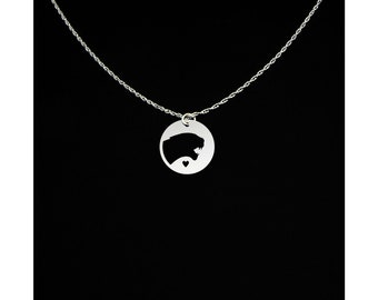 Cougar Necklace - Cougar Jewelry - Cougar Gift