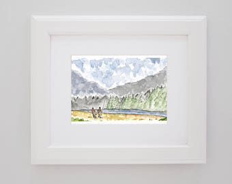 Fly Fishing the Wilderness PRINT