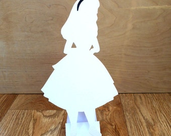 Alice in Wonderland Themed Decoration Prop Wedding Party Silhouette