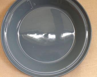 Homer Laughlin Fiesta Deep Dish Pie Plate Periwinkle (newer)/Serving/Baking