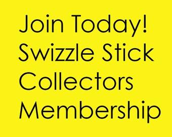Swizzle Stick Collectors ANNUAL MEMBERSHIP
