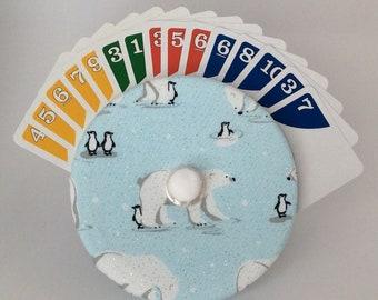 Polar bears and Penguins Cardwheel