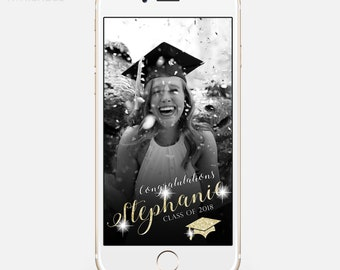 LIMITED TIME! Snapchat Geofilter Graduation, Geofilter Party, Graduation Party, Graduation Geofilter, Graduation Filter, Class of 2018 grd04