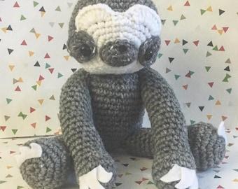 Sloth Amigurumi Pattern PDF - Mammal - Nap Time - Kawaii -  Instant Download