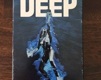 The Deep VHS Horror Video Rare