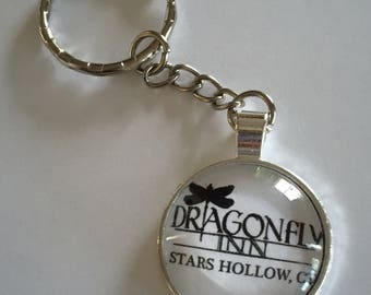 Gilmore Girls Dragonfly Inn keychain