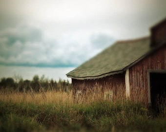 Barn Photograph, Farmland, home decor, Fine Art Photograph