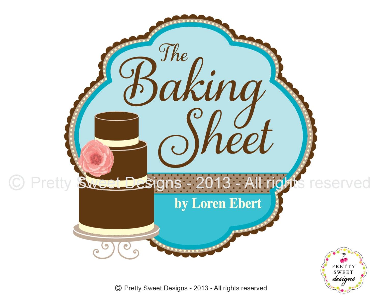 Cake Logo Design For Bakery Or Wedding Shop Wedding Logo