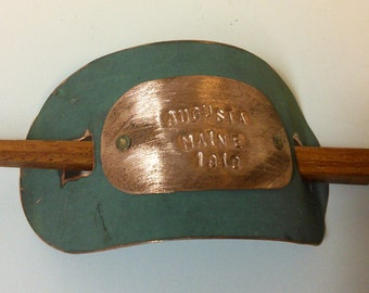 Maine State House Copper Roof Hair Clip Hair Tie Barrette - Limited Edition AC