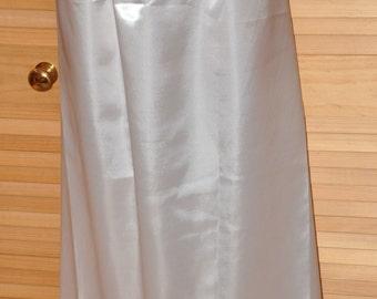 """SLIP 21X - Long 36"""" length silky satin slip / petticoat,  Sissy Lingerie"""