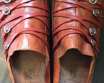 Vintage Bohemian Sandals Miz Mooz brand size 8