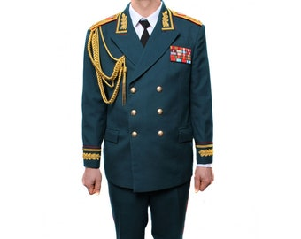 Russian / Soviet Marshal parade military uniform with hat