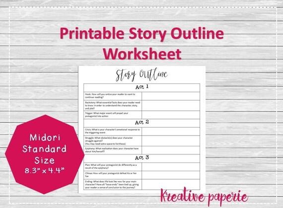 Writing Template Worksheets | Narrative Writing Template Worksheet