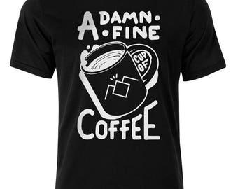 A Damn Fine Cup Of Coffee T-Shirt, Twin Peaks T-Shirt, Tee, Top, Shirt