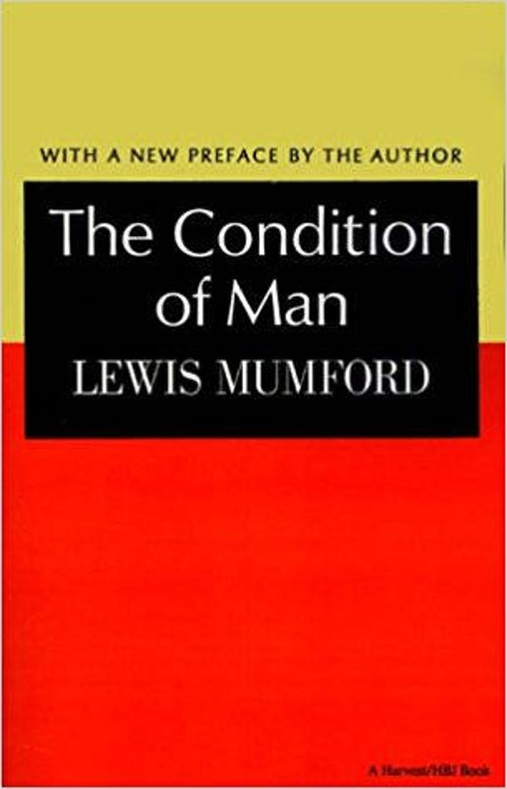 Condition of Man (Harvest Book, Hb 251)