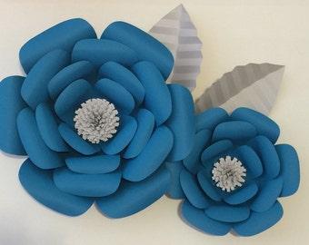 Large Paper Flowers-Backdrop-Flower Wall-Photo Booth-Nursery-Wedding-Birthday-Anniversary-Wall Decor-Home Decor-Wedding Arch-Br