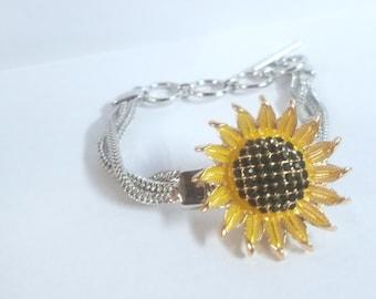 Aloha Sunflower Charm Set