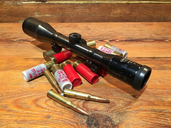 Vintage Swarovski Rifle Scope Hunting Gear Optic Collectible Old Classic