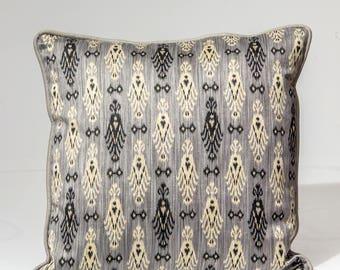 Ikat pillow cover, Kravet pillow cover,  designer pillow cover, Decorative pillow,