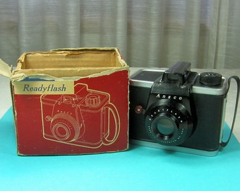 Vintage Camera Ansco Readyflash with Box