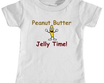 Kid's Peanut Butter Jelly T-Shirt