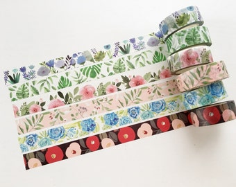SALE 40% OFF Floral Washi Tape