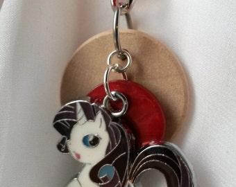 Unicorn Pony diffuser necklace, kids diffuser, diffuser necklace, necklace for essential oil, aromatherapy diffuser necklace, MLP,  EC416