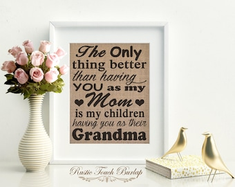 Christmas gift for mom, Mom Christmas gift, Christmas gift from daughter, Gift for mother, Gift for grandma, Mom birthday gift, Christmas