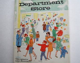 Vintage Children's Book, This Is A Department Store