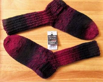 Handmade knitted socks wool socks knitted socks handmade hand knit socks wool 6 fold/threads Gr. 40