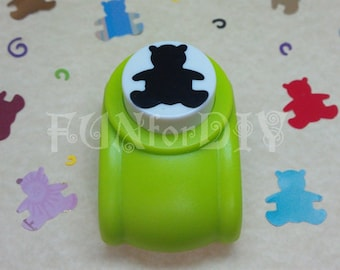 20x20mm large size paper punch -- bear
