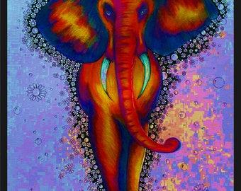 Elephant a4 Print of original artwork