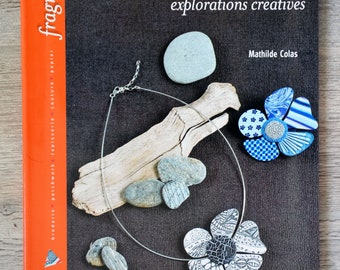 NEW - Book jewelry polymer clay - creative Explorations