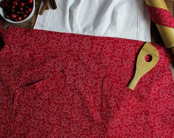 Red Ivy Apron
