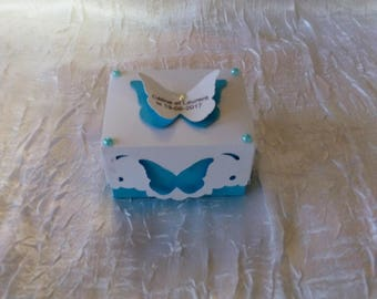 Heart for wedding favors box