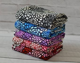 Tissu japonais ensemble chrysanthème Yardage ensemble japonaise en Kimono moderne tissu Floral imprimé Cosmo Textile
