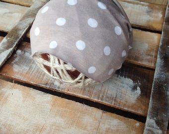 Newborn stretch wrap and Sleepy hat,Photo prop