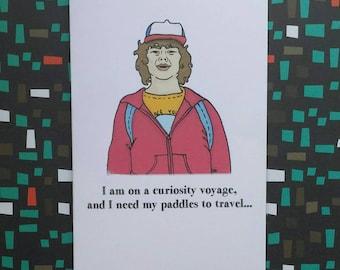 Dustin Henderson Stranger Things card