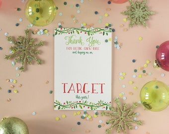 Custom/Printable Keeping me on Target Gift Card Holder