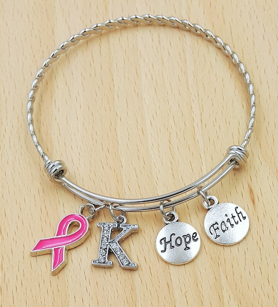 Breast Cancer Gifts Breast Cancer Bracelet Breast Cancer Awareness Breast Cancer Ribbon Breast Cancer Survivor Breast Cancer Jewelery