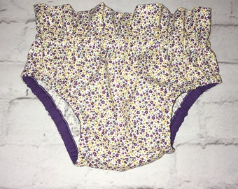Floral High Waist Bloomers