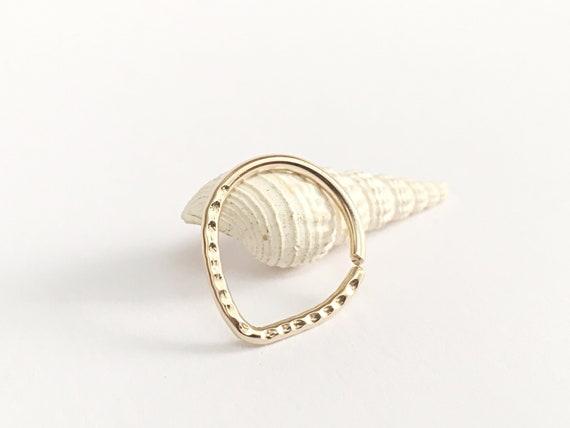 18g gold nipple ring nipple jewelry nipple piercing jewelry