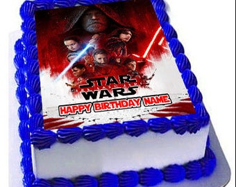 Starwars cake topper Etsy