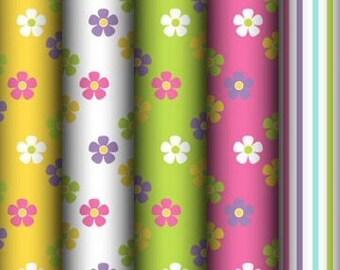 Easter Spring Floral Backgrounds