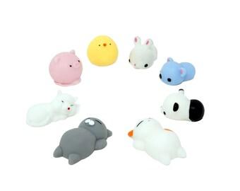 Super Cute Animal Squishies Bundle